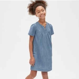 GAP - Girl's Denim Shift Dress